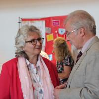 Gehen in Sachen Bürgerzentrum in die Offensive: Elisabeth Gerner und Volker Buck